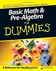 1,001 Basic Math and Pre-Algebra Practice Problems For Dummies (For Dummies (Math & Science)) by Zegarelli, Mark Published by For Dummies 1st (first) edition (2013) Paperback