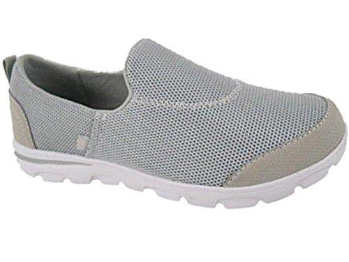 Walk Pro , Damen Sneaker Grau