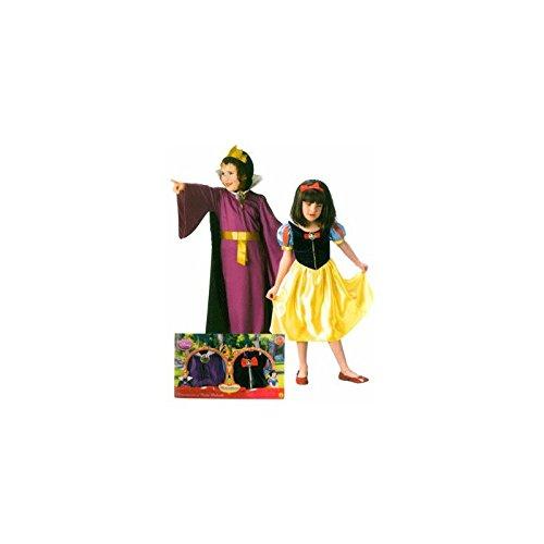 Disney Snow White + Evil Queen Dress up Kostüm Set Alter 8-10 (Dress Up Kostüm White Snow)