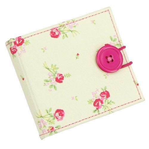 London Clock 82312 série Flower avec motif floral avec ciseaux et aiguille à coudre Kit Aiguilles, 10 x 1,5 x 9 cm