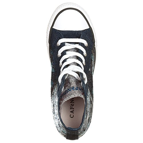 CAFèNOIR  Caf-mdg914bl_36, Damen Sneaker blau blau 36 EU Blau