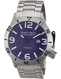 Nautec No Limit Herren-Armbanduhr Canteen Diver CD AT/STSTSTBL