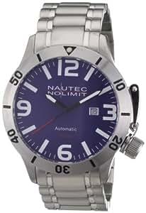 Nautec No Limit Herren-Armbanduhr Canteen Diver CD AT/STSTSTBL