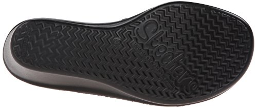 Skechers Rumblers Hope Floats, Sandales Plateau Femme Noir (Bbk)