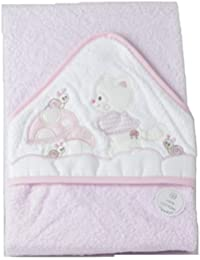Capa de baño bebe rosa