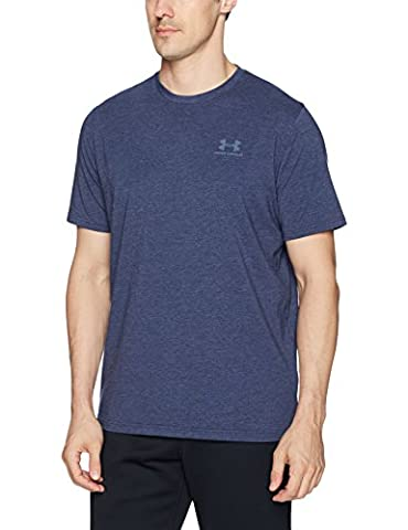 Under Armour Men's CC Lock-Up T-Shirt -Purple (Purple/Purplec), Large