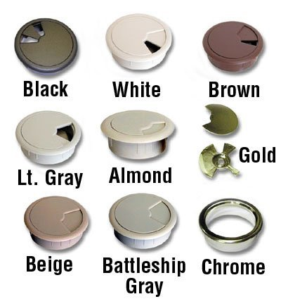 Grommet 2 Beige by Custom Accents ()