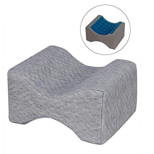 Kontur-knie Kissen (favourall Leg Pillow Memory Foam Bein-Kissen Keil Kontur Sommerkühlung Doppelseitiges Gel Knie-Kissen, Für Seitenschläfer)