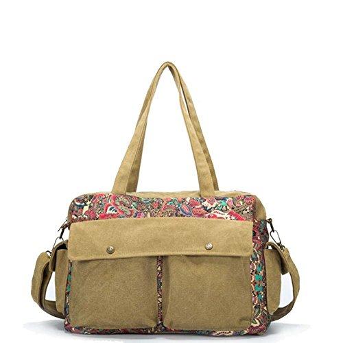 La signora borsa di tela messenger/versione coreana del sacchetto di spalla/big bag Tottenham-C C