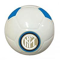 Salvadanaio a forma di pallone in ceramica ufficiale f. C. Inter con tappo alla base, color bianco, fornito con una fantastica confezione regalo rigorosamente neroazzurra. prodotto ufficale, dimensioni 15x15. un accessorio perfetto per chi am...