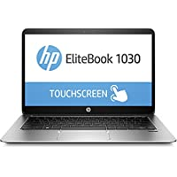 HP EliteBook 1030 G1 Z2U93ES (13,3 Zoll QHD Touchdisplay) Laptop (Intel Core m7-6Y75, 512 GB SSD, 16 GB RAM, Windows 10) silber