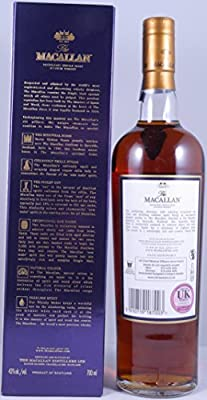 Macallan 18 Years Sherry Oak Single Malt Scotch Whisky 1996