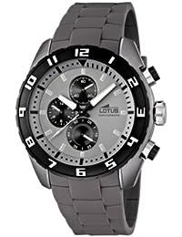 Lotus 15842 1 - Reloj cronógrafo de cuarzo para hombre con correa de caucho 28a9fdeec664