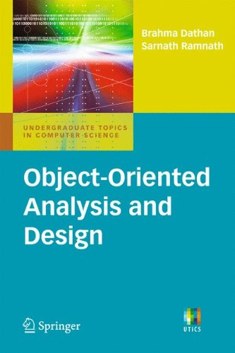 Object-Oriented Analysis and Design (Undergraduate Topics in Computer Science)