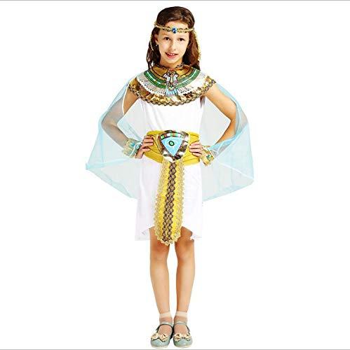 der Kindertageskleidung-männliche und weibliche Prinzessin Ancient Greek Costumes Araber-Prinz Nile,Girl,L ()