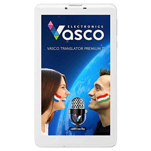 Vasco Translator Premium 7': Elektronischer Übersetzer für 40 Sprachen mit Spracherkennung