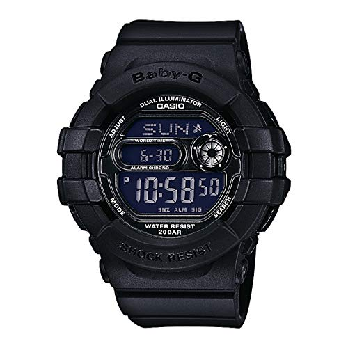 Casio Baby-G Damen-Armbanduhr Digital Schwarz BGD-140-1AER