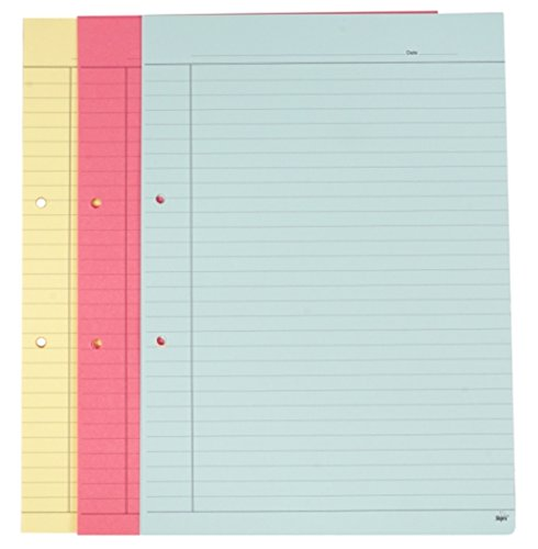 Shipra One Side Rulled Colour Paper - A4 Size (Pack of 5)