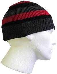 240b7067ae4864 Flagstaff Mens 3M Thinsulate Insulated Stripe Beanie Winter Hats HAI708