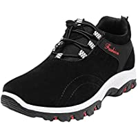 ☺HWTOP Herren Sneakers Sportschuhe Laufschuhe Wanderschuhe Wasserdichte Wanderschuhe Männer Schnürstiefel Schuhe Trainer Outdoor Freizeitschuhe Fitnessschuhe Mesh Schuhe