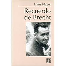 Recuerdo de Brecht