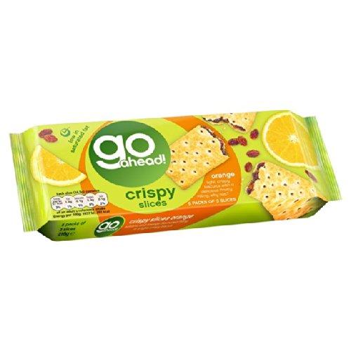 Go Ahead Crispy Fruit Slice Orange & Sultana 5 per pack