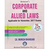 #2: Munish Bhandari's Corporate & Allied Laws for CA Final November 2017 Exams