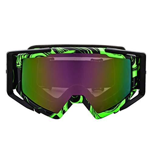 Trend Motocross Radsportbrille Winddicht Staubdicht UV-Schutz Kratzfest Einstellbare Brillen Outdoor Mountainbike Zubehör für Reiten Segelfliegen Camping