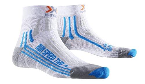 2-speed-trockner (X-Socks Damen Socken RUN SPEED TWO LADY, White/Turquoise, 35/36, X020436)