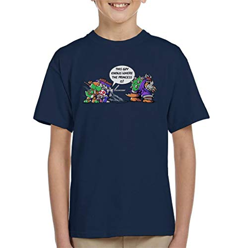 Cloud City 7 Super Ninja Bros TMNT Super Mario Kid's T-Shirt
