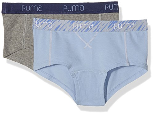 puma-unterhose-mini-stripe-slash-hipster-2p-para-mujer-multicolor-sunkist-coral-talla-s