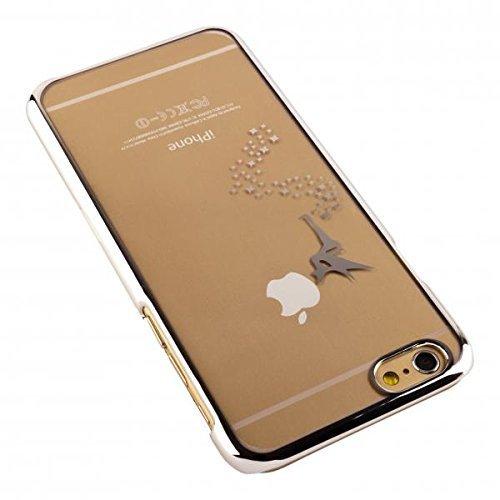 ECENCE APPLE IPHONE 6 6S (4,7) COQUE DE PROTECTION RIGIDE HOUSSE CASE COVER FéE FéE OR 41030504 Fée argent