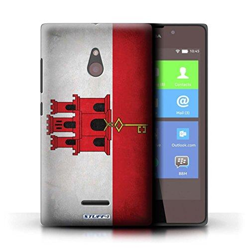 Kobalt® Imprimé Etui / Coque pour Nokia XL / Angleterre/anglais conception / Série Drapeau Gibraltar