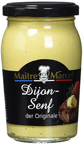 Maitre Marcel Dijon-Senf, scharf, 6er Pack (6 x 200 ml)