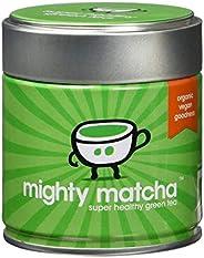 Mighty Matcha Té Verde Matcha Ecológico – Té Matcha Ceremonial 100% Orgánico – Premio de Oro Great Taste – Inf