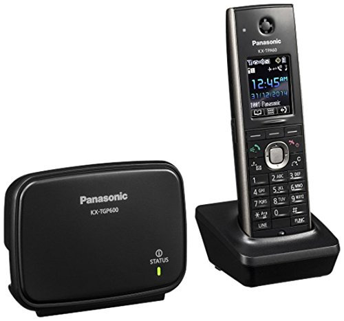Panasonic KX-TGP600CEB Sip-DECT-Basis mit Mobilteil Schwarz