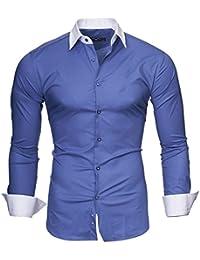 "KAYHAN Slim Fit Herren Hemd Model ""Milano"""
