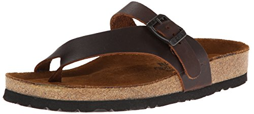 Naot Womens Tahoe Leather Sandals Brown