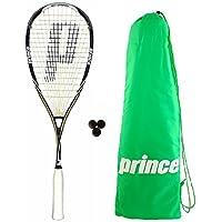 Prince Pro Souverain 650 Raquette De Squash + Balles De 3 Squash + Sac