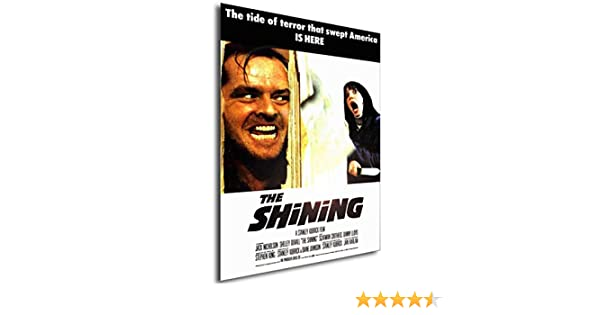 Locandina Formato A3 Poster Vintage The Shining 42x30 cm