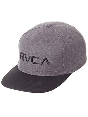 RVCA Snapback Cap RV Twill Iii Grau Heather (One Size, Grau)