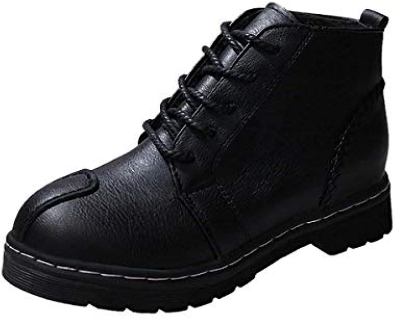 KOKQSX-l'autunno e l'inverno antiscivolo donne di stivali un breve dentro stivali velvet con 4cm 37 nero | Online Shop  | Uomo/Donne Scarpa