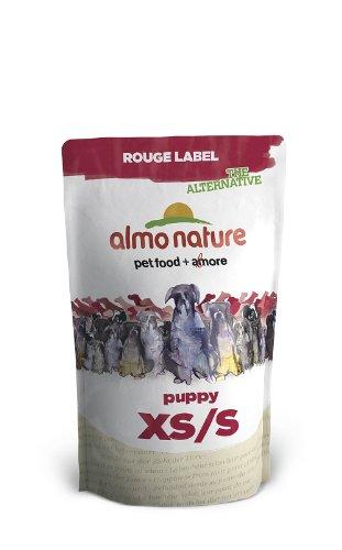 Preisvergleich Produktbild Almo Nature Rouge Label The Alternative Hundefutter,  XS plus S PUPPY mit Huhn,  1er Pack (1 x 750 g)