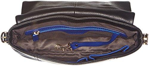 Le Tanneur Capucine Tak1401, Sac porté épaule Noir (N1)