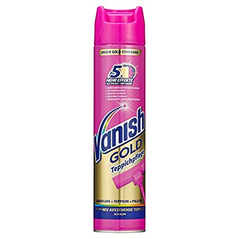 Vanish GOLD Teppichpflege Schaum, Teppichreiniger für Großflächen, 1er Pack (1