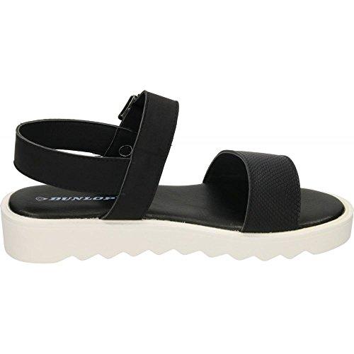 Dunlop , Sandales pour femme noir/noir