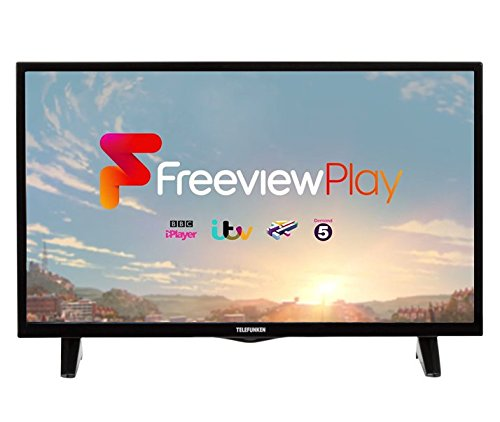 Telefunken 43 inch Smart 1080P Full HD LED TV with Freeview Play (Supports On Demand Catch up TV) (Amazon Exclusive)
