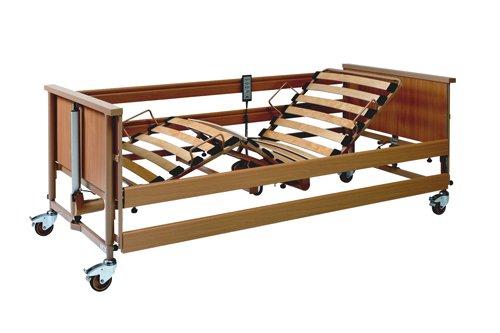 Pflege- und Seniorenbett Dali II 90x200cm, elektrisch verstellbarer Lattenrost, Burmeier