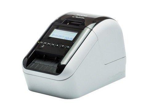 Brother ql-820nwb-Label Etiketten (WLAN, Bluetooth 2.1, USB 2.0, LCD Display, Automatischer Papierschneider, Schwarz und Rot)