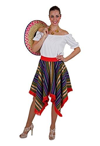 Tequila Girl Kostüm - Festartikel Müller Damen Kostüm Zubehör bunter